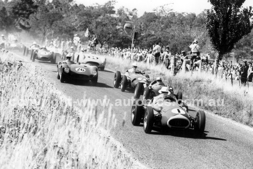 59631 - Stan Jones, Maserati 250F - Australian Grand Prix, Longford 1959