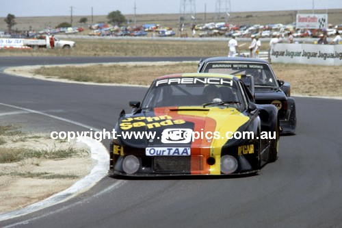 83006a - Rusty French Porsche 935 - Calder 1983 - Photographer Peter D'Abbs