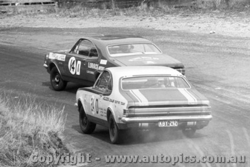 68730  -  JIM PALMER / PHIL WEST and West / Marks  -  Bathurst 1968 - Holden Monaro GTS 327
