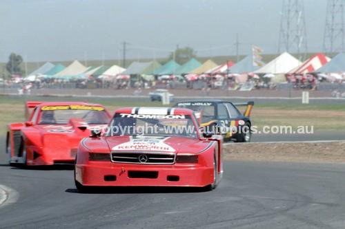 84438 - Bryan Thomson & Graeme Whincup, Chev Monza - Calder 1984 - Photographer Peter D'Abbs