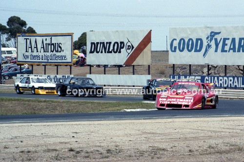 83000 - Peter Brock, Chev Monza - Calder 1983 - Photographer Peter D'Abbs