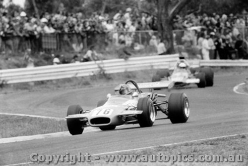 72507 - J. Harvey Brabham BT36  - Tasman Series Sandown 1972