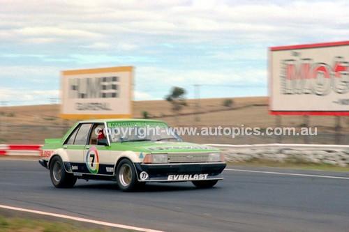 81091 - Bob Morris, Falcon XD - Calder 15th March 1981 - Photographer Peter D'Abbs