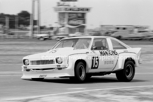 78109 - Jim Smith Torana V8 - Calder 6th August 1978 - Photographer Darren House