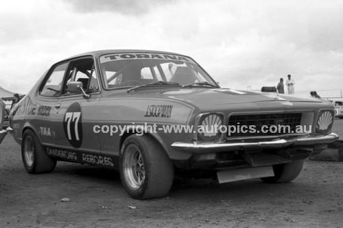 74441 - John Stoopman, Torana XU1 - Sandown 1974 - Photographer Darren House