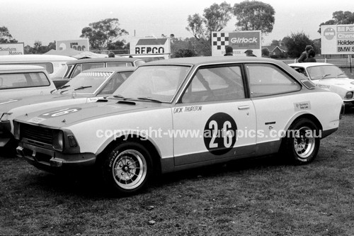 74440 - Dick Thurston, Toyota Corrola - Sandown 1974 - Photographer Darren House