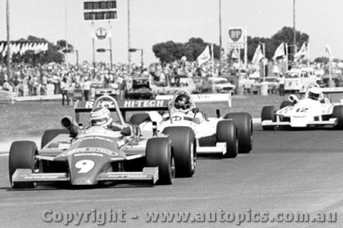 81521 - N. Piquet /  J.  Bowe  /  G. Brabham - All in Ralt RT4 s - AGP Calder 1981