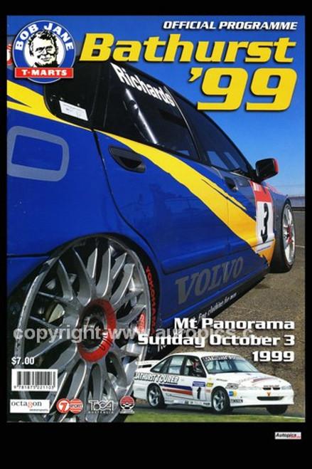 738 - Bathurst Programme Cover 1999 - 2 Ltr