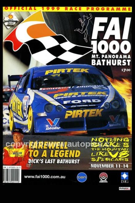 737 - Bathurst Programme Cover 1999 - V8