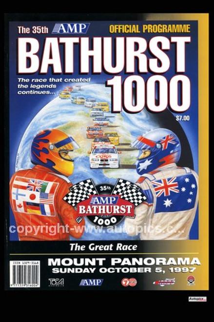 734 - Bathurst Programme Cover 1997 - 2 Ltr