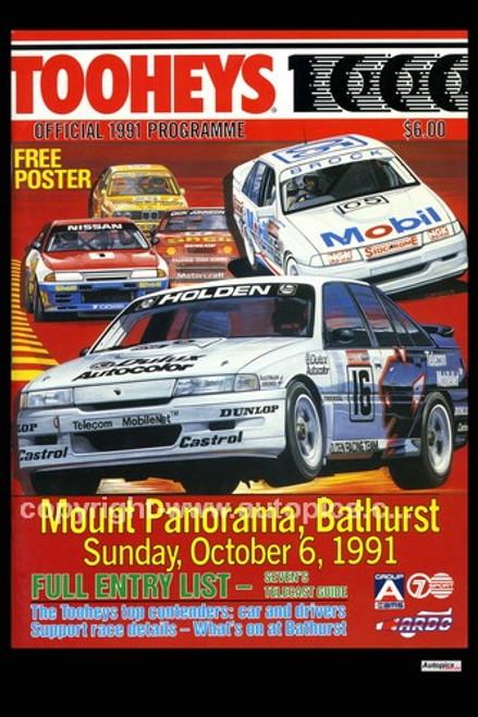728 - Bathurst Programme Cover 1991