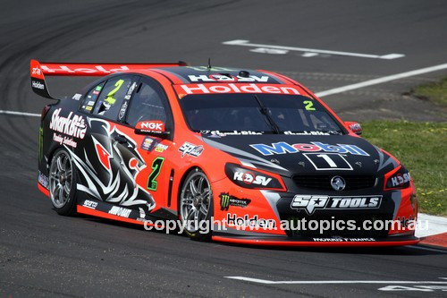 16746 - Garth Tander & Warren Luff, Holden Commodore VF - 2016 Bathurst 1000
