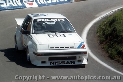 83743 - Christine Gibson Nissan Pulsar EXA Turbo  - Bathurst 1983