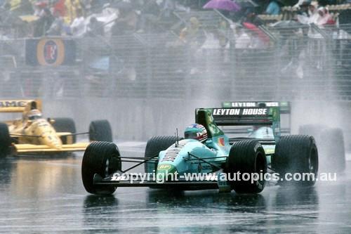 89549 - Ivan Capelli, March CG891 -  Australian Grand Prix Adelaide 1985
