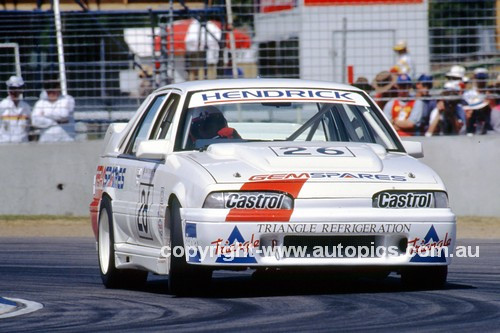 91038 - Daryl Hendrick, Commodore - Adelaide 1991 - Photographer Ray Simpson