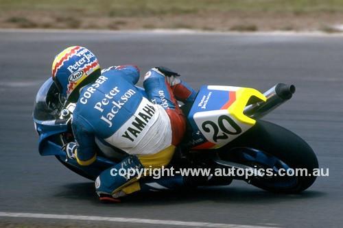 92049 -  Troy Corser, Yamaha - Easter Creek 1992 - Photographer Ray Simpson