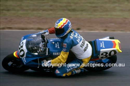 92050 -  Mick Doohan, Yamaha - Easter Creek 1992 - Photographer Ray Simpson