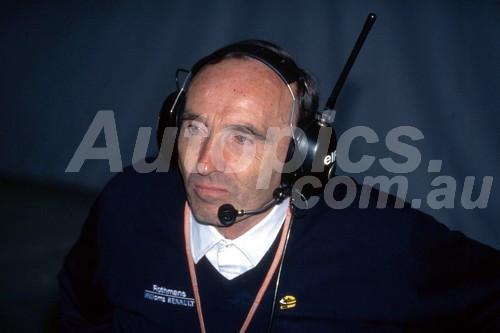 94510 - Frank Williams, AGP Adelaide 1994 - Photographer Ray Simpson