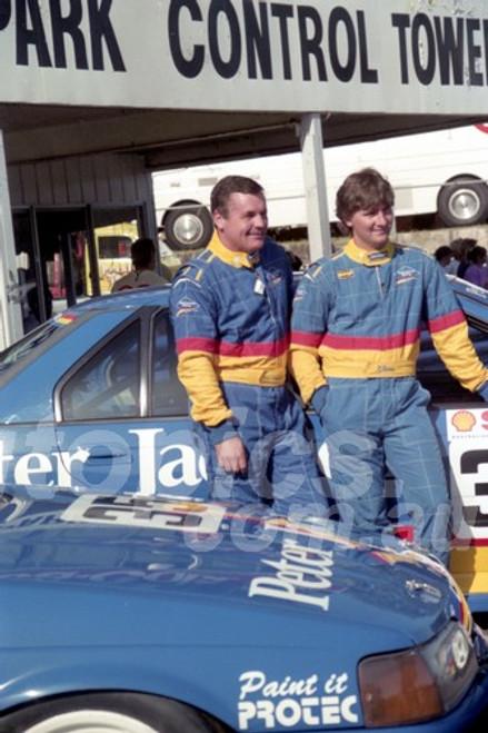 93039 - Glenn Seton & Allan Jones - Ford Falcon EB - Amaroo 1993 - Photographer Lance J Ruting