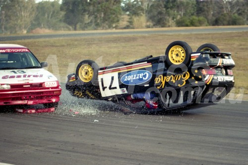 93037 - Ian Sawtell, Suzuki Swift - Oran Park  1993 - Photographer Lance J Ruting