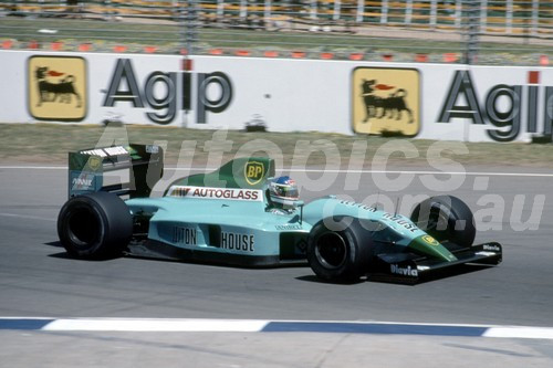 90504 - Ivan Capelli, Leyton House-Judd  - Australian Grand Prix Adelaide 1990 - Photographer Ray Simpson