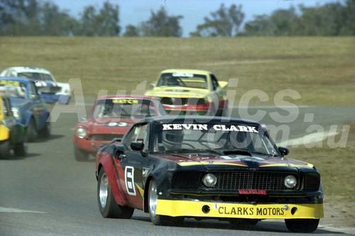 83041 - Kevin Clark, Ford Mustang - Oran Park 1983  - Photographer Lance Ruting