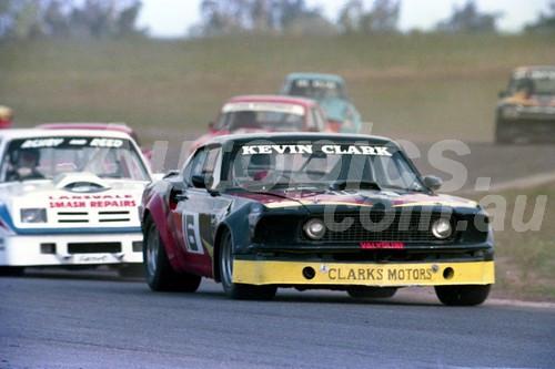 83040 - Kevin Clark, Ford Mustang - Oran Park 1983  - Photographer Lance Ruting