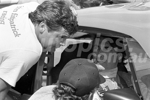 83039 - Peter Brock & Alan Jones - Calder 1983  - Photographer Peter D'Abbs