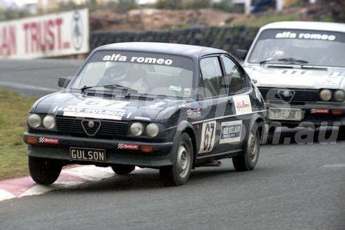 83038 - Ray Gulson, Alfasud - Amaroo 1983  - Photographer Lance Ruting