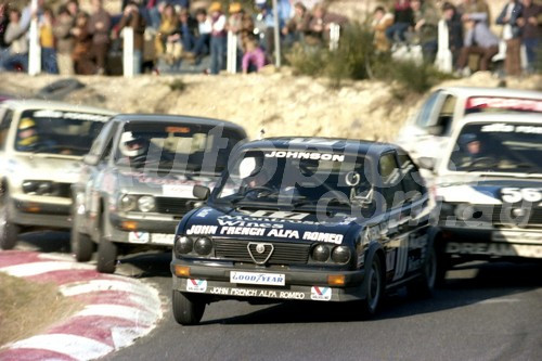 83037 - Dick Johnson & Ray Gulson, Alfasud - Amaroo 1983  - Photographer Lance Ruting