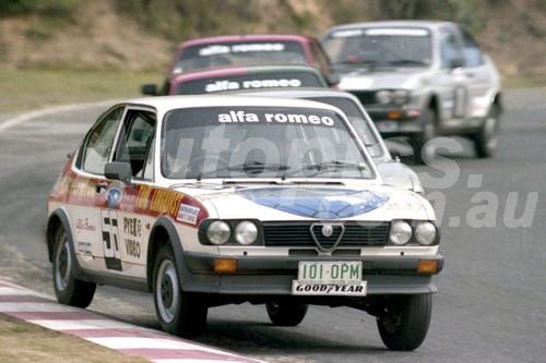 83036 - Tony Longhurst, Alfasud - Amaroo 1983  - Photographer Lance Ruting