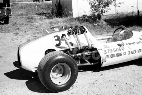 68258 - Fred Wheelhouse Cooper Corvette, Hume Weir 1968 - PhotographerJohn Lindsay
