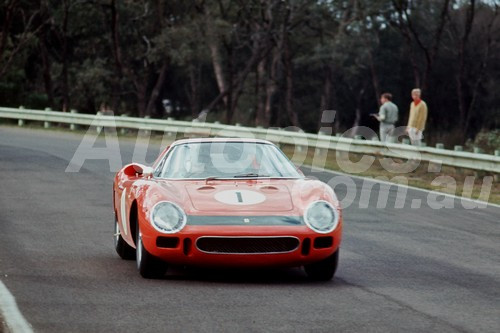 65301 - Spencer Martin Ferrari 250LM - Warwick Farm 1965 - Photographer Richard Austin