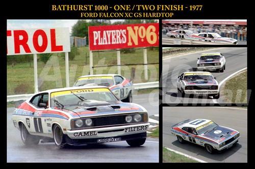1161 One / Two Finish - Bathurst 1977 - Allan Moffat & Colin Bond