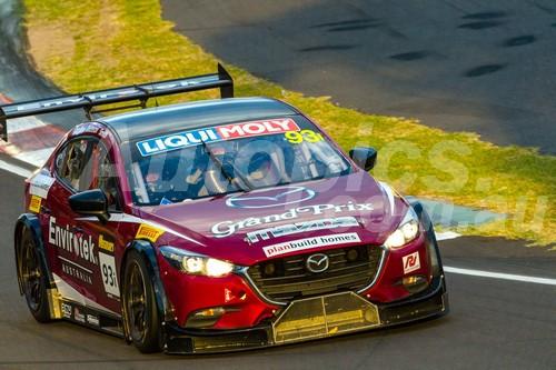 17060 - Jake Camilleri, Jack Smith, Rob Thomson - Mazda 3 V8  - 2017 Bathurst 12 Hour