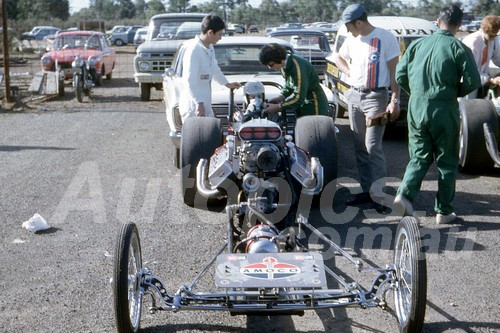 701054 - Ash Marshall  Castlereagh Drags 1970 - Photographer Bob Jess