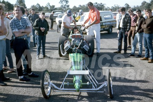 701056 - Ross Melish Castlereagh Drags 1970 - Photographer Bob Jess