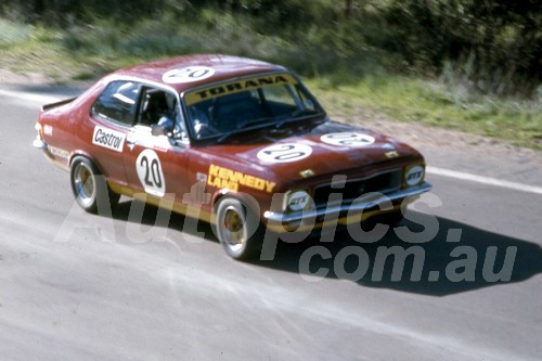75132 - Kevin Kennedy & Steve Land Torana LJ XU1- Bathurst 1975 - Photographer Bob Jess