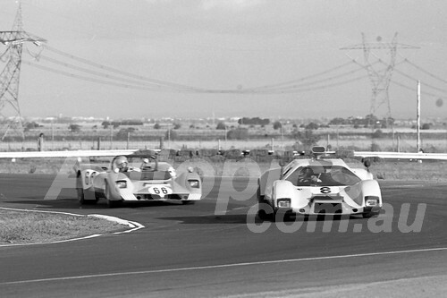 75101 - B. Bignall Lotus 23B GT & David Richardson Elva Ford - Calder 1975 - Photographer Peter D'Abbs
