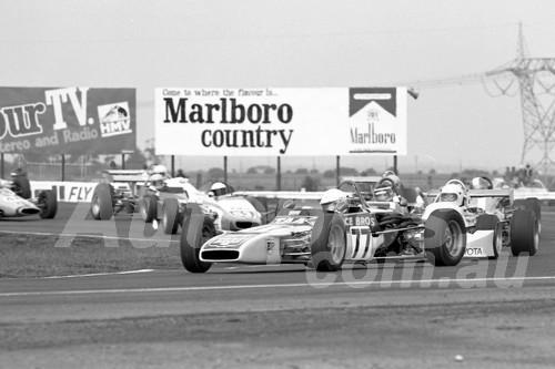 75146 - Peter Finlay, Palliser-Knott Formula Ford - Calder 1975 - Photographer Peter D'Abbs