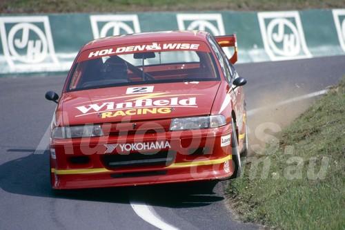 93755 - DAVID BRABHAM / ANDERS OLOFSSON - Commodore VP -  Bathurst 1993  - Photographer Marshall Cass