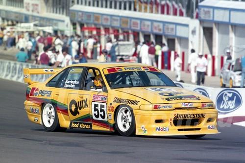 93758 - TROY DUNSTAN / STEVE HARRINGTON - Commodore VP -  Bathurst 1993  - Photographer Marshall Cass