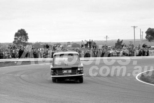 66100 - Norm Beechey, Hillman Imp - Calder 22nd May 1966 - Photographer Barry Kirkpatrick