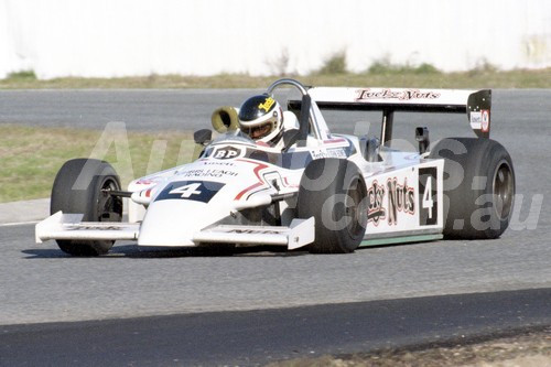 82092 - John Bowe Ralt RT4 - Australian National Formula 1 Championship -  Wanneroo 11th July 1982 - Photographer Tony Burton