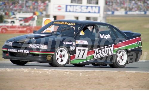 92057 -  Alf Barbagallo Holden Commodore -  Wanneroo 6th June 1992 - Photographer Tony Burton