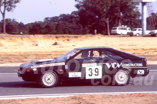 89063 - David Sala, Nissan Gazelle - Wanneroo 1989 - Photographer Ray Simpson