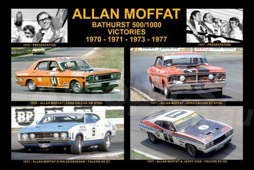 1171 - Allan Moffat's Four Bathurst Victories - 1970, 1971, 1973 & 1977