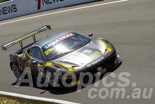15734 - Ivan Capelli / Jim Manolios / Ryan Miller - Ferrari 458 GT3 - Bathurst 12 Hour 2015