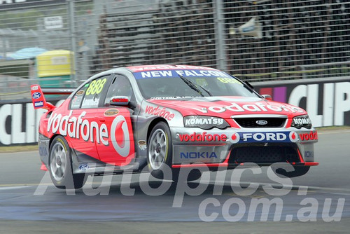 208748 - Craig Lowndes - Ford Falcon BF - Clipsal 500 Adelaide 2008  - Photographer Marshall Cass