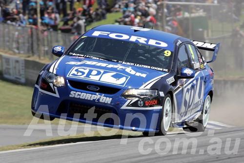 209718 - Shane Van Gisbergen - Ford Falcon FG - Barbagallo Racewayo 2009 - Photographer Marshall Cass
